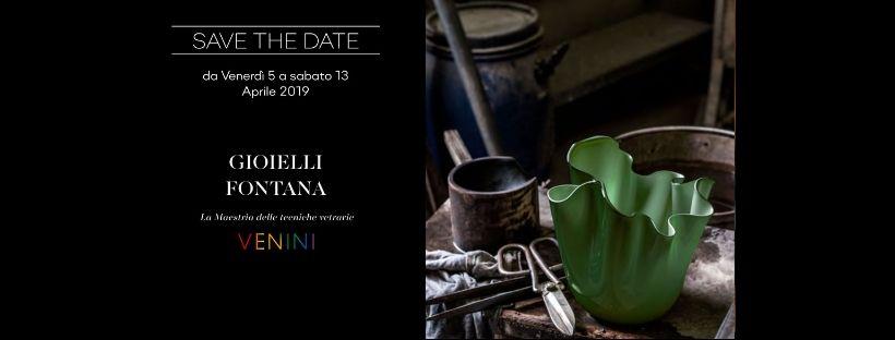 Venini & Fontana Gioielli per la Varese Design Week!