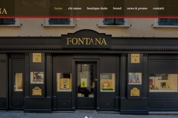 E' online il nuovo sito web di Fontana Gioielli